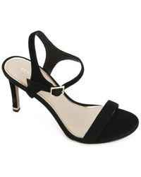 Kenneth Cole Brandy 85 High Heel Dress Sandals - Black