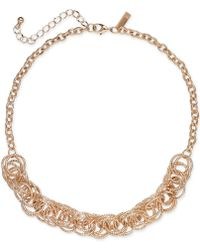 INC International Concepts - I.n.c. Multi-ring Statement Necklace, Created For Macy's - Lyst