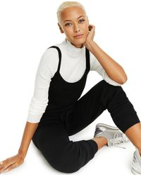 Charter Club Sleeveless Cashmere Jumpsuit, Created For Macy's - Black