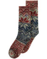 Sperry Top-Sider - Printed Crew Socks - Lyst