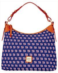 Dooney & Bourke - New York Giants Hobo Bag - Lyst