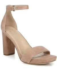 Naturalizer Joy Dress Ankle Strap Sandals - Natural
