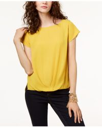 INC International Concepts - Draped-hem Top, Created For Macy's - Lyst