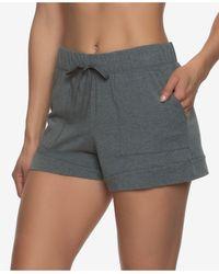 Felina Organic Cotton Loungewear Shorts - Multicolour