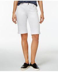 Hue - Essential Denim Boyfriend Shorts - Lyst