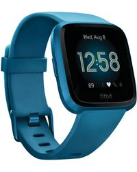 Fitbit - Versa Lite Blue Strap Smart Watch 39mm - Lyst