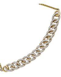 Wrapped in Love - Tm Diamond Chain Link Bolo Bracelet (1/2 Ct. T.w.) In 10k Gold, Created For Macy's - Lyst