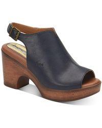 b.ø.c. Sheila Comfort Sandals - Blue