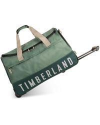 "Timberland - Ocean Path 30"" Wheeled Duffel Bag - Lyst"