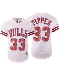 reputable site 6092e cbd6d Mitchell & Ness Scottie Pippen Chicago Bulls Gold Collection ...