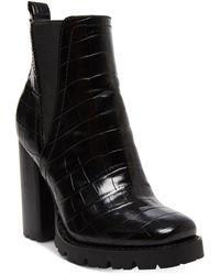 Steve Madden Ladon Lug-sole Heels - Black
