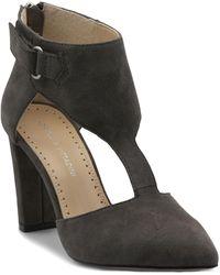 Adrienne Vittadini Nikos Court Shoes - Gray