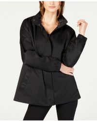 Eileen Fisher - Organic Cotton Hooded Jacket - Lyst