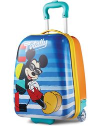 """American Tourister - Disney Mickey Mouse 18"""" Hardside Rolling Suitcase By - Lyst"""
