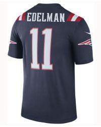 Nike - Julian Edelman New England Patriots Legend Color Rush Jersey - Lyst