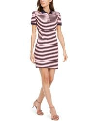 Maison Jules Striped Polo Dress, Created For Macy's - Multicolor