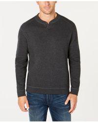 Tommy Bahama Flip Side Reversible Classic Pima Cotton Sweater - Multicolour