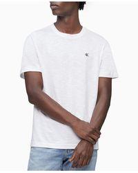 Calvin Klein Logo T-shirt - White