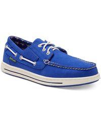 Eastland Adventure Mlb Boat Shoes - Blue