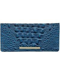 Brahmin Ady Wallet Shortbread Melbourne - Blue
