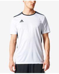 adidas Men's Entrada Climalite® Soccer Shirt - White