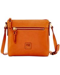 Dooney & Bourke Florentine Allison Small Leather Crossbody - Natural