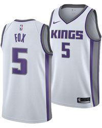 Nike - Deaaron Fox Sacramento Kings Association Swingman Jersey - Lyst