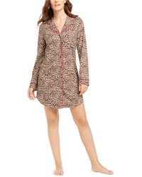 Charter Club Sueded Super Soft Knit Sleepshirt Nightgown, Created For Macy's - Multicolor