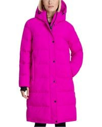 BCBGeneration Hooded Puffer Coat - Pink