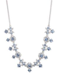 """Givenchy - Crystal 16"""" Collar Necklace - Lyst"""