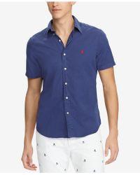 Polo Ralph Lauren - Big & Tall Classic-fit Twill Shirt - Lyst