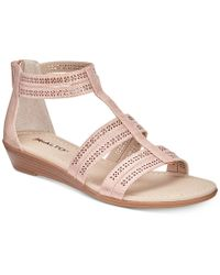 Rialto - Greer Wedge Sandals - Lyst