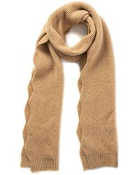 INC International Concepts Inc Chevron Knit Muffler Scarf, Created For Macy's - Natural