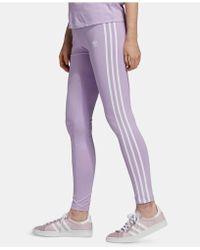 c0ff0fc8a3c adidas - Originals Adicolor 3-stripe Leggings - Lyst