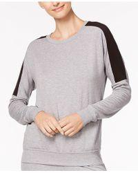 Alfani - Colorblock Pajama Top, Created For Macy's - Lyst