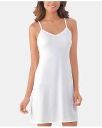 Vanity Fair Lace-v-neck Full Slip 10141 - White
