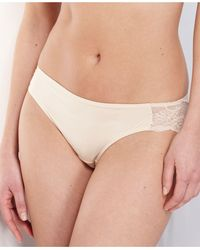 Maidenform Comfort Devotion Lace Back Tanga Underwear 40159 - Natural