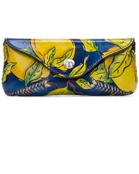 Patricia Nash Ardenza Glasses Case - Yellow