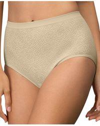 Bali Comfort Revolution Microfiber Brief Underwear 803j - Natural