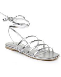 Rampage Athena Gladiator Sandals - Metallic