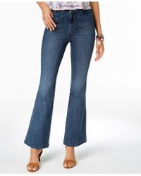 Style & Co. - Patch-pocket Flared Jeans, Created For Macy's - Lyst