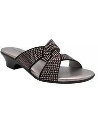 Karen Scott Enoree Flat Sandals, Created For Macy's - Black
