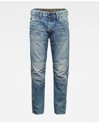 G-Star RAW 5620 3d Original Relaxed Tapered Jeans - Blue