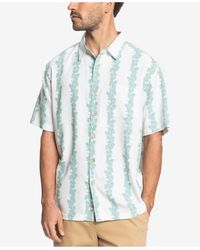 Quiksilver - Tigerblood Short Sleeve Shirt - Lyst