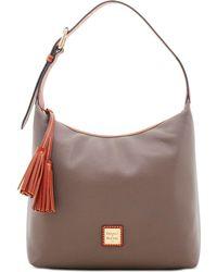 Dooney & Bourke Patterson Leather Paige Pebble Leather Shoulder Bag - Multicolour