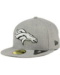 Lyst - Ktz Denver Broncos Trapskin Knit Hat in Orange for Men 548d3f0f0