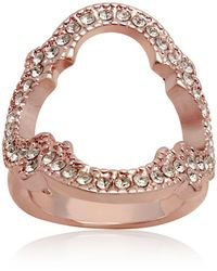 T Tahari Moroccan Metals Ring - Pink