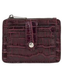 Patricia Nash Cassis Id Wallet - Purple