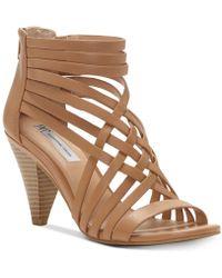 INC International Concepts - Garoldd Strappy High Heel Dress Sandals - Lyst