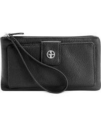 Giani Bernini - Softy Medium Grab & Go Wallet - Lyst